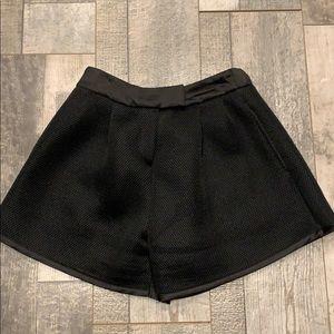 MAJE  mesh fabric shorts size 1